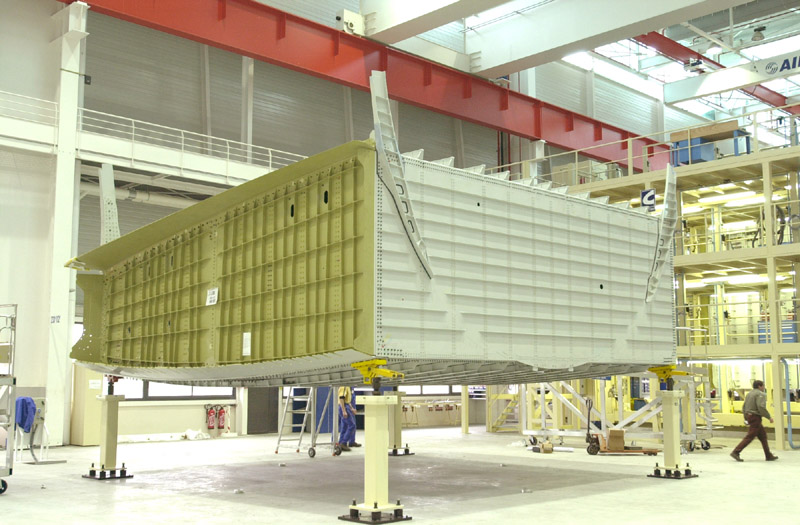 1st A380 centre wingbox